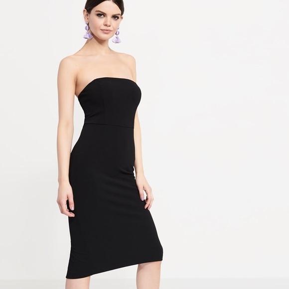 04d469e91088 Dynamite NWT Midi Strapless Bodycon Dress